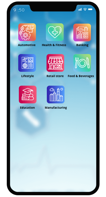 Our iPhone App Development Expertise for Industry Domains