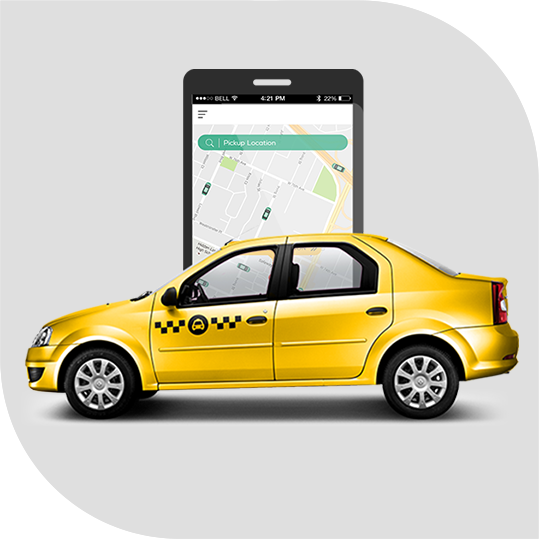On-demand Taxi Booking App